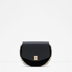 CONTRAST MINI MESSENGER BAG from Zara