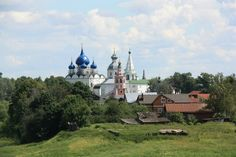 Russian Orthodox Church in Suzdal, Russia