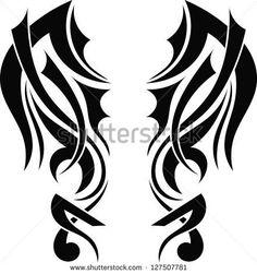 Resultado de imagem para tribal tattoo