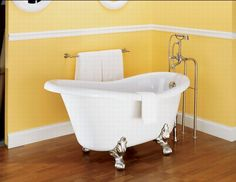 Part of me wants this bathtub in my dream home.