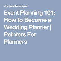 How to Charge a Fee for Your Event Planning Service | Course ...