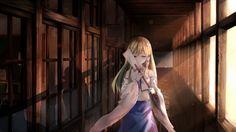 Anime 1920x1080 anime anime girls Kochiya Sanae Touhou long hair Japanese clothes