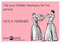 The navy are sailors, air force are airman, army are soldiers and the marines are marines. Get it right :)