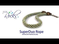 Make a two tone ombre wrap bracelet using SuperDuo Duet beads. The Duets feature a different colour on either side of the beads which allows you to create co...