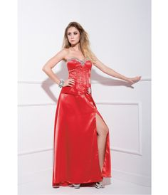 2013 Prom Dresses - Cinamon Strapless Stain Prom Dress - Unique Vintage - Prom dresses, retro dresses, retro swimsuits.
