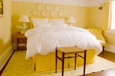 modern yellow bedroom furniture