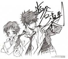 PSYCHO-PASS, Kougami Shinya, Tsunemori Akane