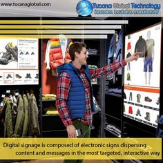 #Digitalsignage is composed of electronic signs dispersing #content and #messages in the most #targeted, #interactive way. #TucanaGlobalTechnology #Manufacturer #HongKong