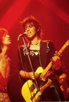The Rolling Stones at Cobo Arena, Detroit 1975. Photo: Bob Alford.