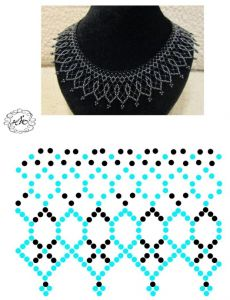 Diy Necklace Patterns, Beaded Jewelry Patterns, Beading Patterns, Seed Bead Jewelry, Bead Jewellery, Jewelry Making Beads, Craft Jewelry, Handmade Jewelry, Beading Tutorials