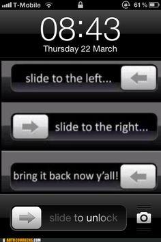 Cha Cha Slide phone unlock!