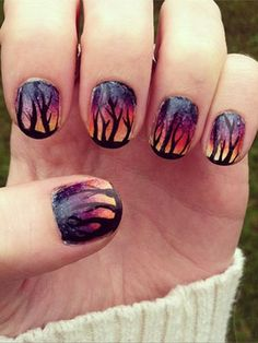 THESE NAILS OMG MUST TRY SOMETHING SIMILAR