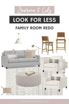 A low decor budget does NOT mean your style has to suffer! You can decorate beautifully on any budget! Simply find an inspiration room design and redo it based on what you can afford … like I've done in this post!