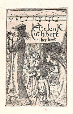 Bookplate of Helen Cuthbert