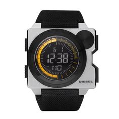 Just found out Diesel makes watches. My wallet just whimpered. Tag Heuer, Stylish Watches, Cool Watches, Men's Watches, Marc Jacobs Uhr, Diesel Watches For Men, Mens Gear, Watch Sale, Digital Watch