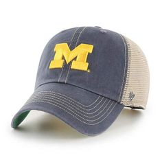 NEW YOUTH University of Michigan Wolverines Snap Back Hat 3D Embroidered Cap