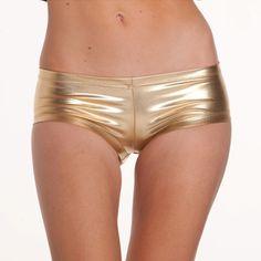 gold panty