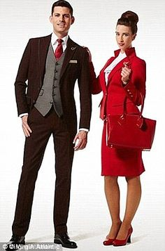 Virgin Atlantic cabin crew - male and female - are required to attend a 'Groom School' to ...