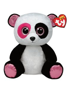 Penny Panda 16 Inch Beanie Boo   Girls Stuffed Animals Beauty, Room & Toys   Shop Justice