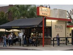 Bruxie Gourmet Waffle Sandwiches in Old Towne Orange at the corner of Glassell and Palm Ave. has been open for about a year and a second restaurant in Brea has recently opened.