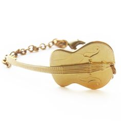 Guitar Cuff Bracelet - Larissa Loden Jewelry