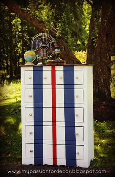 My Passion For Decor: Race Car Inspired Dresser For Hunter
