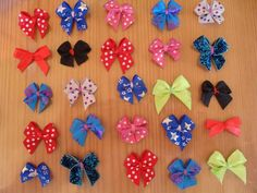 Cute Little Bows #howto #tutorial