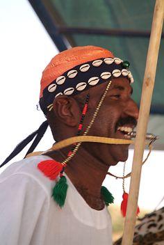 North Sudanese Folkloric dancer