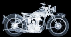 "Matchless Motorbike - August 2013 C-Type Print 2300 x 1189mm (90.5 x 47"") Edition of 5"