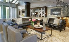 lobby at Hockley Valley Resort