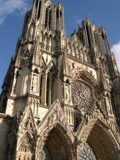 Cathédrale Notre-Dame de Reims © OT Reims