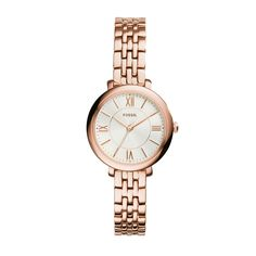 Fossil Women's Rose Goldtone Jacqueline Mini Watch With Stainless Steel Strap >>> Check out the image by visiting the link. (This is an Amazon Affiliate link and I receive a commission for the sales)