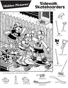 줄 타는 원숭이 모형 만들기외줄타는 원숭이 만들기 입니다. 원숭이 너무 귀여워 장식으로도 아주 만점입니... Hidden Object Games, Hidden Objects, Adult Coloring, Coloring Books, Coloring Pages, Craft Activities For Kids, Kindergarten Activities, Hidden Pictures Printables, Highlights Hidden Pictures
