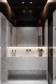 Bathroom Spa, Small Bathroom, Washroom, Modern Bathtub, Restroom Design, Apartment Projects, Toilet Design, Bathroom Design Luxury, Minimalist Interior