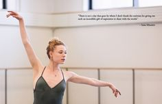 New York City Ballerina Sara Mearns #theeverygirl