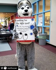 #Repost @northccac with @repostapp  The Husky knows CCAC is a great place to start your College career! #ccacnorthcampus #ccacopenhouse