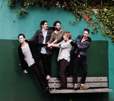 local natives and their mustaches.