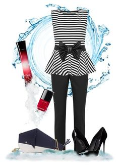 """""""Classy Whale!"""" by ladylokia ❤ liked on Polyvore featuring мода, RED Valentino, WearAll, Kate Spade, Chanel, Giorgio Armani, Dolce&Gabbana и ClassyForACure"""