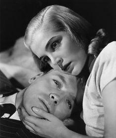 "Burt Lancaster y Lizabeth Scott en ""Al Volver a la Vida"" (I Walk Alone), 1948"