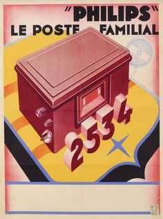 I Gen, Poster Ads, Philips, Good Company, Vintage Ads, Radios, Dutch, Commercial, Advertising