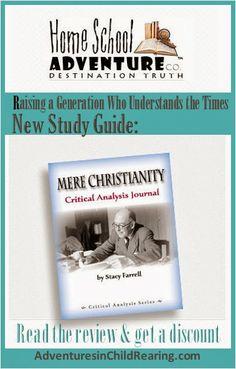 Homeschooling Adventurez: Home School Adventure Co. - Mere Christianity - Critical Analysis Journal Review