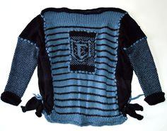 sweater, Design: Julia Brusenzewa Sweater Design, Knitting, Sweaters, Fashion, Moda, Tricot, Fashion Styles, Breien, Pullover