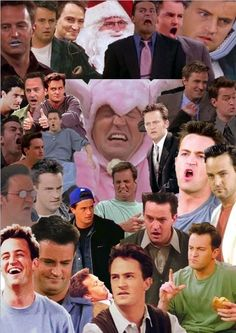Chandler Bing appreciation and the actor who portrays him, Matthew Perry.