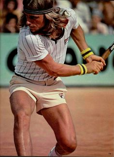 BJORN BORG-The  LEGEND---Between 1974 and 1981 he won 11 Grand Slam singles titles. He won five consecutive Wimbledon singles titles and six French Open singles titles (an Open Era record second only to Rafael Nadal).He is considered by many to be one of the greatest tennis players of all time!!!