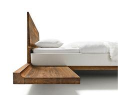 contemporary rustic natural wood bed inspiration by ign design ... - Dream Massivholzbett Ign Design
