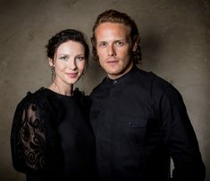 New HQ Portraits of Sam Heughan and Caitriona Balfe from the Deadline Emmy's Party | Outlander Online
