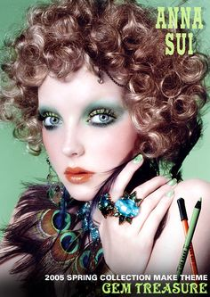 Anna Sui Spring 2005 collection