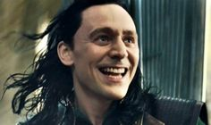 Loki  TDW  I love that expression of near- maniacal glee.Who wouldn't be gleeful after being locked up and ignored for however long?