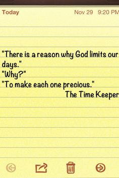 from the time keeper by Mitch Albom #my all time fave author