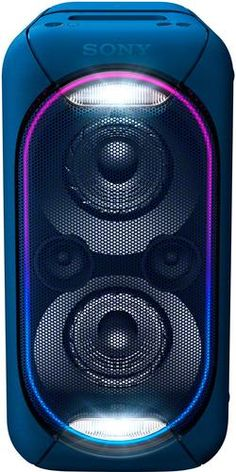 Shop Sony High Power Portable Bluetooth Speaker Black at Best Buy. Find low everyday prices and buy online for delivery or in-store pick-up. Sony Speakers, Wireless Speaker System, Party Speakers, Small Speakers, Audio System, Internet Radio, Boombox, Radios, Usb